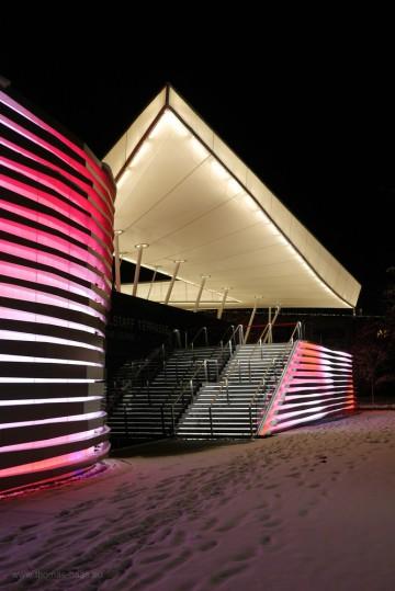 Fassade Casino Bregenz, Dezember 2017