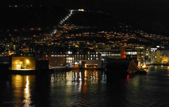 Ablegen in Bergen, Februar 2018