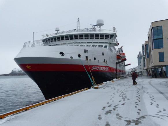 MS Spitsbergen, Ålesund, Februar 2018