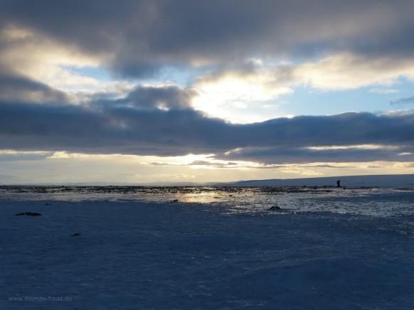 Am Nordkap im Winter 2018