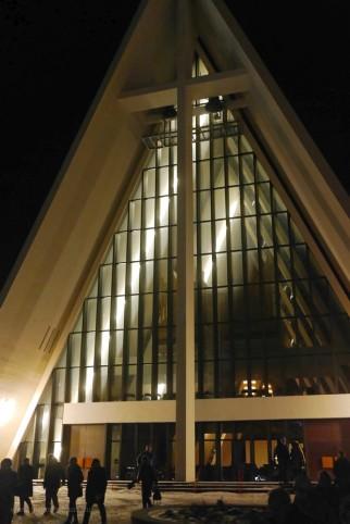 Nach Mitternacht in Tromsø, Eismeerkathedrale