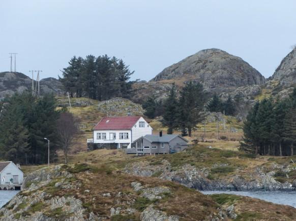 Häuser im Steinsund