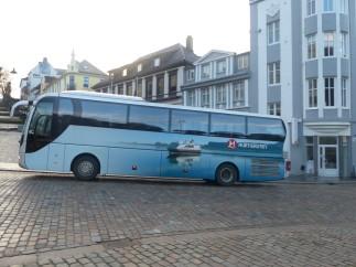 Hurtigruten-Bus als Zubringer, Transferbus