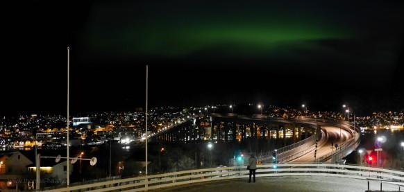 Bildbearbeitung: Nordlicht in Tromsø