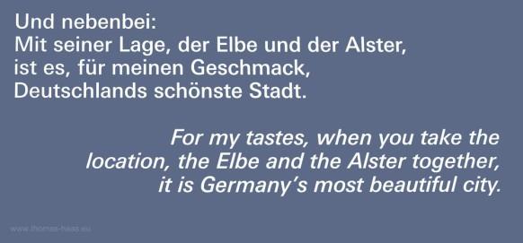 Zitat Karl Lagerfeld zum Thema Hamburg