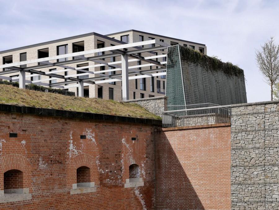 Moderen Architektur und die Capponiere 4
