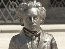 Eine der Einstein-Figuren, Mai 2018