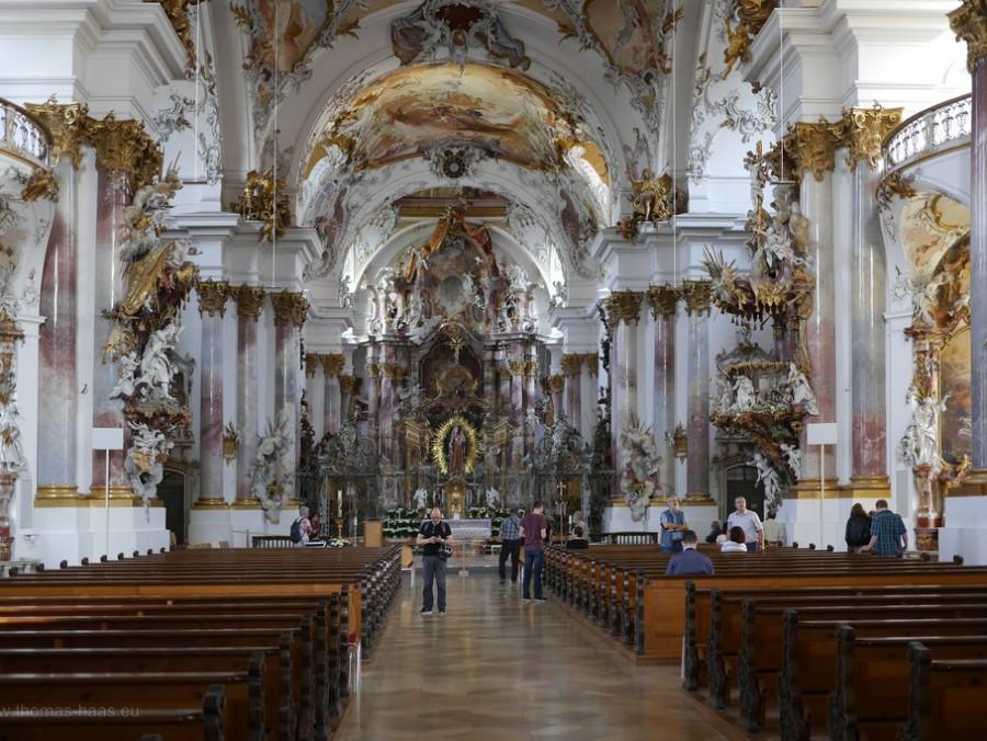 Münsterblick: Im Münster i nZwiefalten, Mai 2018