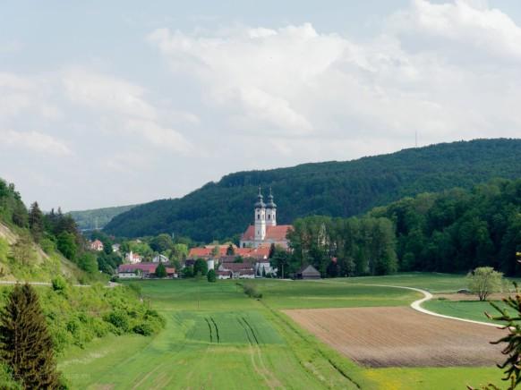 Münster in Zwiefalten in schwäbischer Kulturlandschaft, 2018