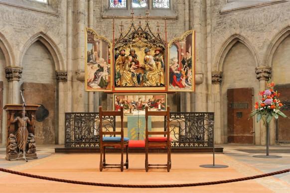 Chorraum, Schaffner-Altar, Hochaltar, Juni 2018