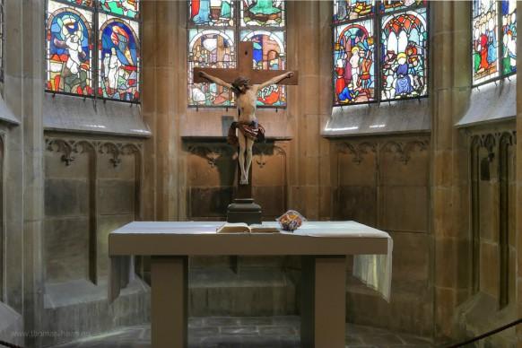 Altar in der Besserer-Kapelle, Juni 2018