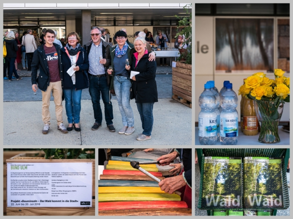Die Vernissage #WALD am 22.06.2018 in Ulm