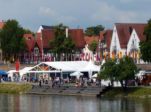 Fischplätzle, Ulm, Daonaufest 2018
