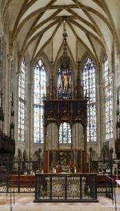 Altar und Chor, Juni 2018