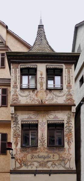 Stadthaus aus dem jahr 1584 in Tübingen