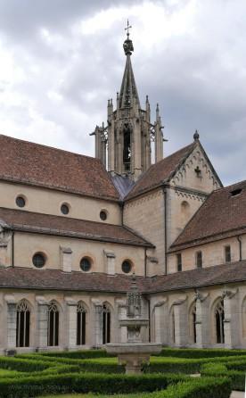 blick zur Klosterkirche Bebenhausen, Juli 2018