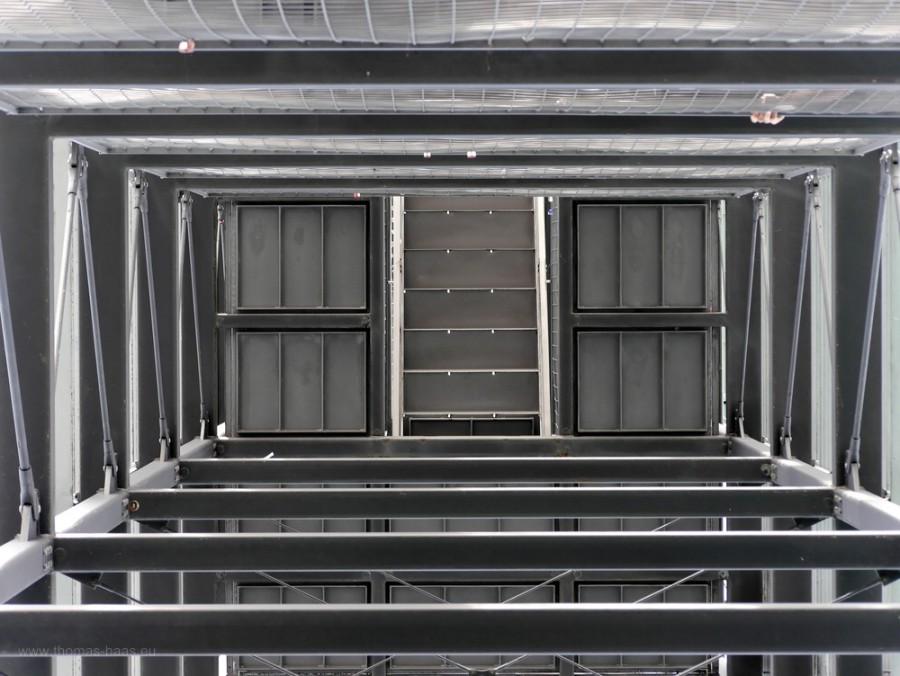 Blick nach oben, Molenturm, FN, 2018