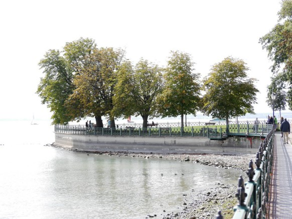Der See in High-Key, 2018