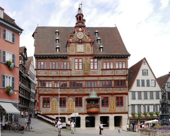 Altes Rathaus in Tübingen, 2018