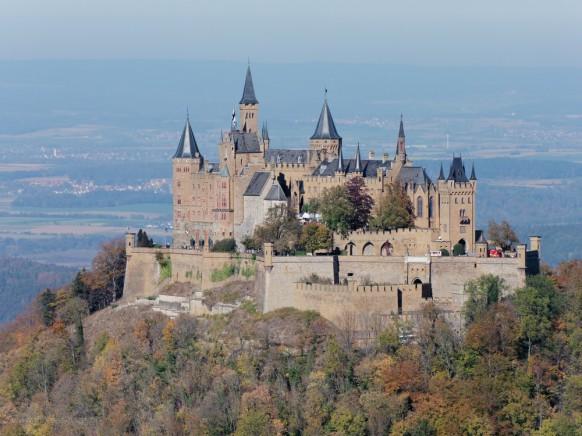 Burg Hohenzollern vom Zeller Berg, 2018
