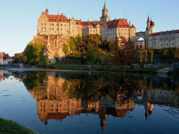 sigmaringen, Schloss, Abendlicht im Oktober, Yannick Musch
