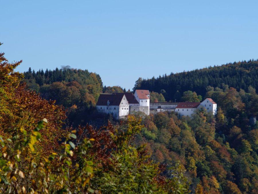 Schloss Wildenbstein vom Eichfelsen, Yannick Musch