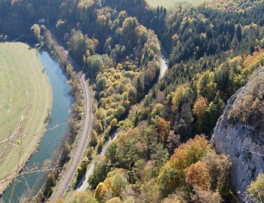 Landschaft Naturpark Obere Donau,  2018