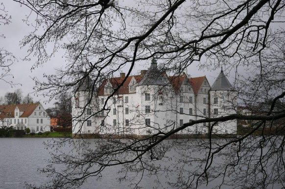 Bild des Monats, Januar 2019, Schloss Glücksburg, Dezember 2018
