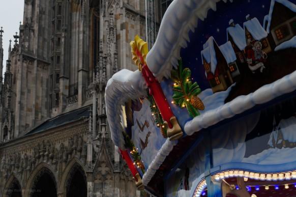 Weihnachtsmarkt und Münster, Ulm, 2018