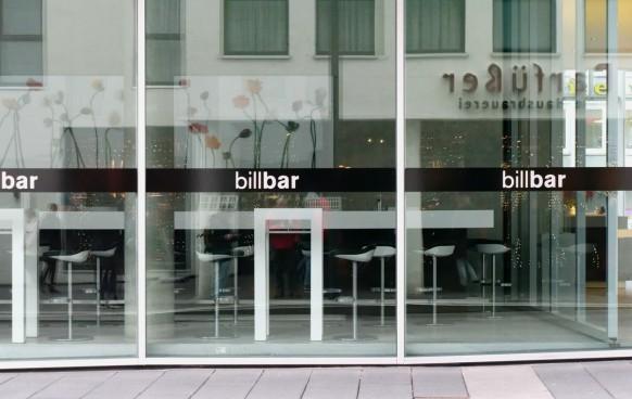 Die Billbar, Kunsthalle Weishaupt, Dezember 201818
