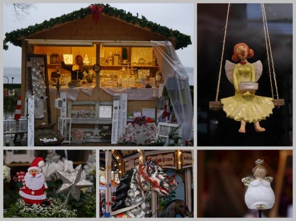 Weihnachtsmarktcollage, Dezember 2018