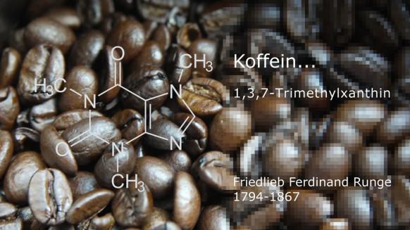 Koffein und Runge in Kaffebohnen eingearbeitet, 2019