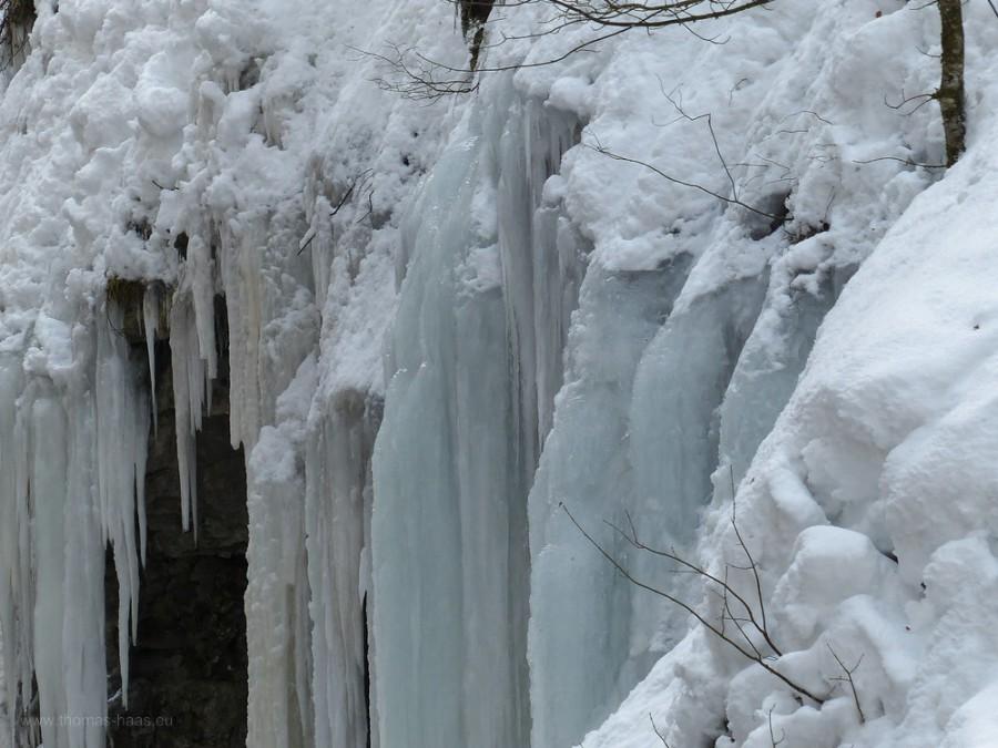 Eiswelten in der Breitachklamm...