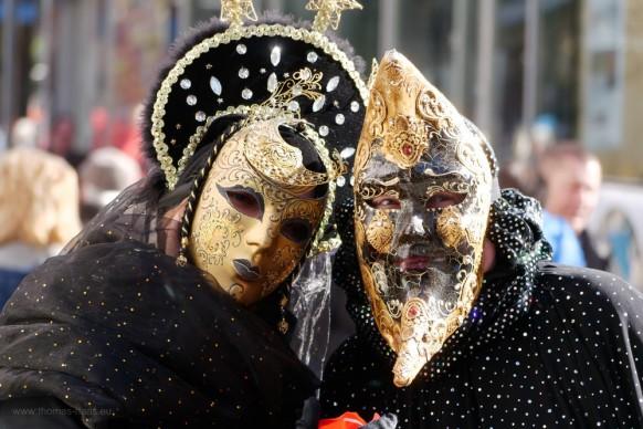 Maskenträger, Schwäbisch Hall, 2019