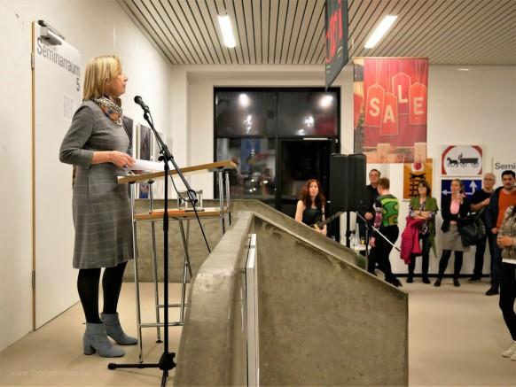 Die letzte Semestereröffnung von Frau Dr. Dagmar Engels, vh ulm, 26.02.2019