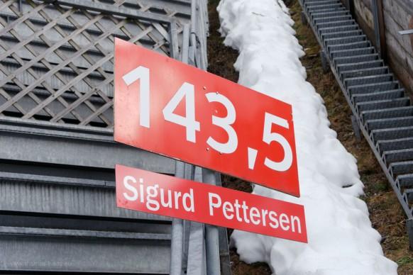 Schanzenrekord: 143,50 m, Sigurd Pettersen