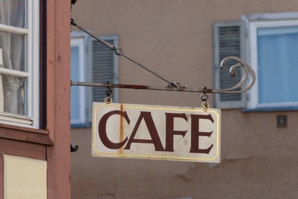 """Ausleger """"CAFE"""""""