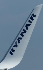 Winglet am einer Boing, Ryanair, 2019