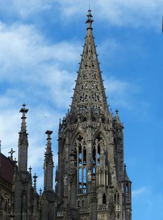 Chorturm, Münster Ulm, 2019