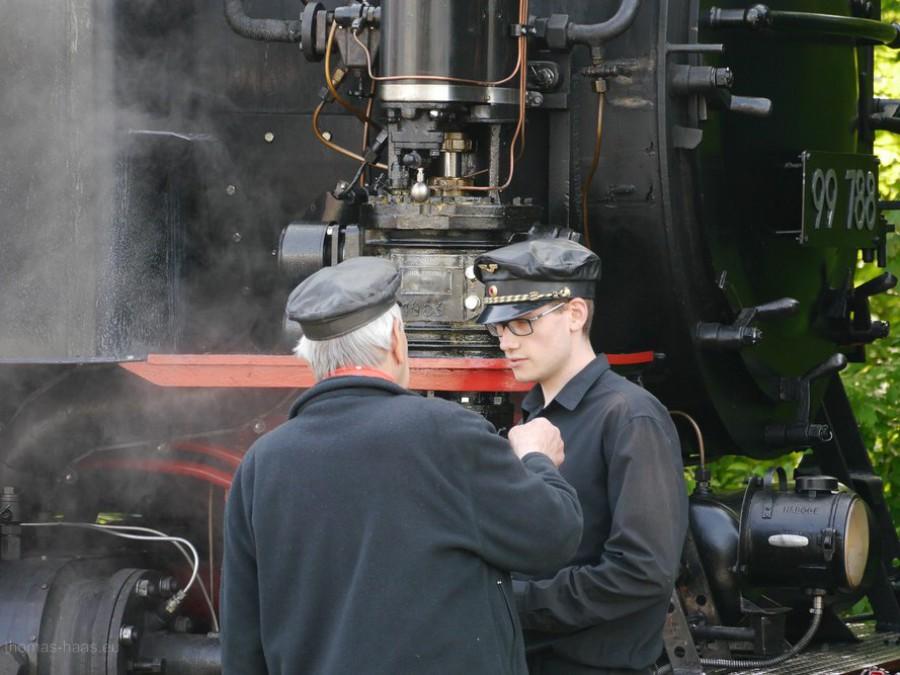 Heizer und Lokomotivführer, Mai 2019