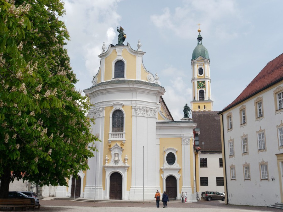 Klosterkirche in Ochsenhausen, Mai 2019