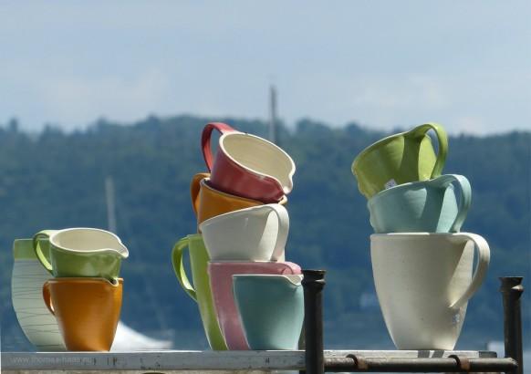 Töpfermarkt in Dießen, 2019 - Keramik am See