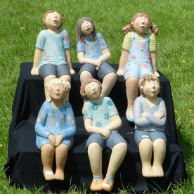 Skulpturen: Kinder