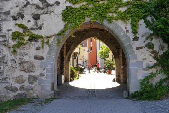 Zutritt in die Altstadt: Das Untertor in RV.