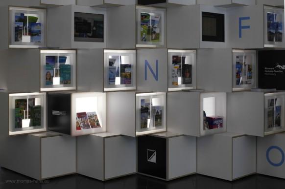 Präsentation in der Tourist-Info in Ravensburg, 2019