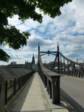 Neutorbrücke und Ulmer Münster, 2019