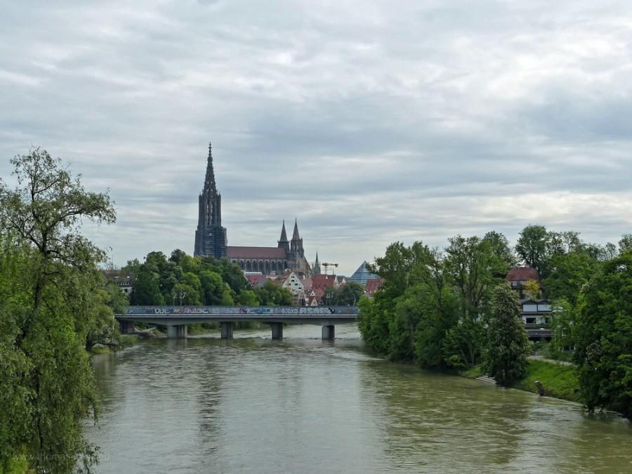 Münsterblick, Adenauerbrücke, Ulm, 2019