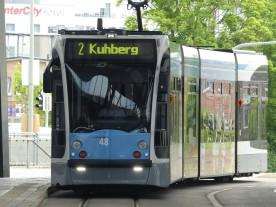 Linie 2 am Ehinger Tor, Ulm