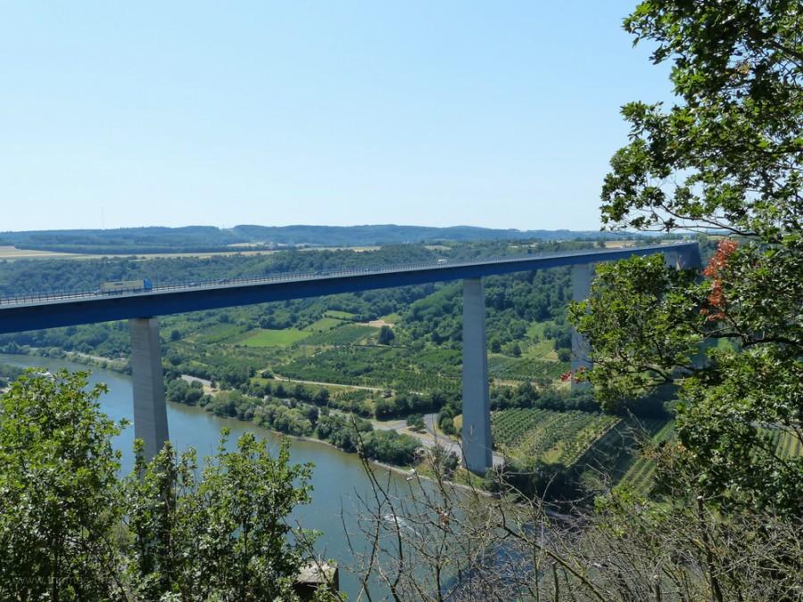 Die Brücke über das Moseltal, Juli 2019