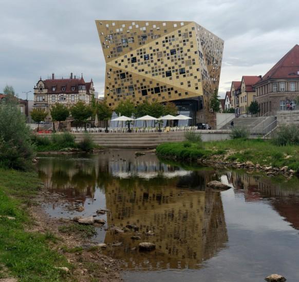 Schwäbisch Gmünd, moderne Architektur, das Forum, 2019